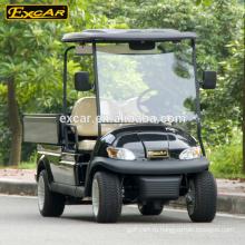 EXCAR энергоснабжения автомобиля Китая дешево 4 мест электрический мини-гольф автомобиль с грузом
