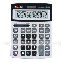 12 Digits Dual Power Large Desktop Calculator (LC22610A)