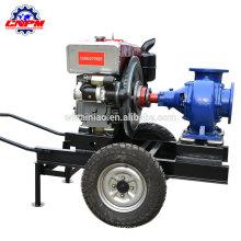 grupo da bomba de água da irrigação do motor diesel da autoprimerção, bomba diesel