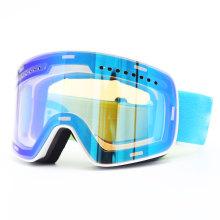 Мужские зеркальные очки для лыж и сноуборда