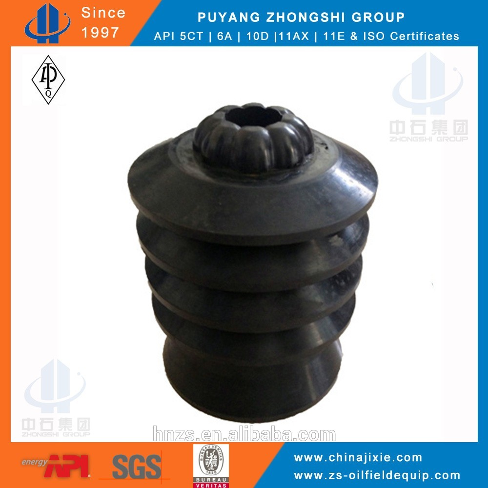 rubber plug with threaded insert