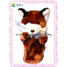 Animal de pelúcia personalizado Fox Puppet (XDT-0134)