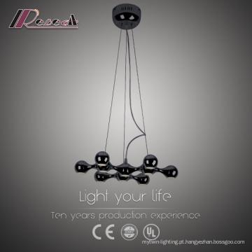 Modern Iron LED 1W Pendant Light Alumínio
