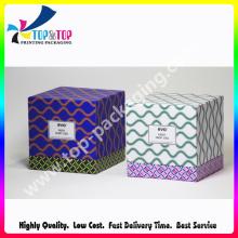Bela impressão Rígido Cardboard Perfume Gift Box