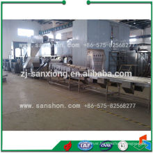 Food Processing Machinery Bean Freezing Production Line