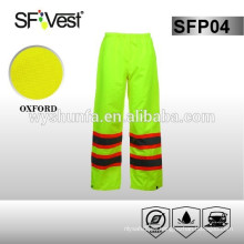 Sirve pantalones para 100% poliéster, oxford 300D con PU o revestimiento de PVC