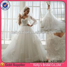 2013 die beliebtesten schönen A-line Mode Brautkleider
