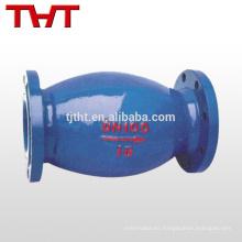 una válvula de retención de agua unidireccional de una vía tipo resorte bola nrv