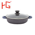 OEM Customized Form für Aluminiumlegierung Wok Pot
