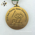 3D custom your own logo cheap alloy metal sports running medals