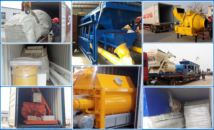 JS 750 Stainless Steel Concrete Mixer
