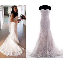 2017 Tailor Made Idea vestido de novia de la novia real
