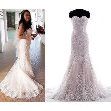 2017 Индивидуальные Идеи Реального Свадебное Платье Невесты