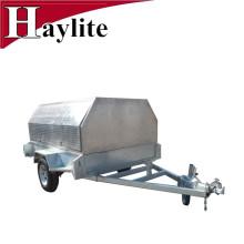 Reboque agrícola de alumínio em tandemTrailer
