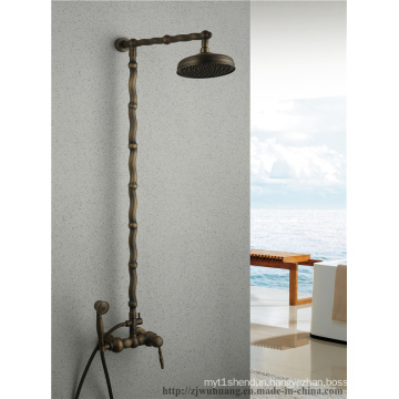 Bamboo-Bar Bathroom Bath Shower Faucet