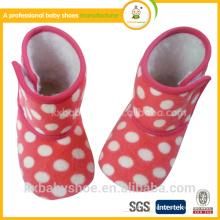 Ботинки младенца снежка сапоги младенца мягкие ботинки младенца способа