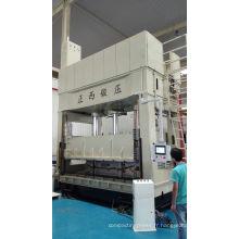 Presse hydraulique à emboutissage profond à double action série Yz28 de la marque Zhengxi fabriquée en Chine