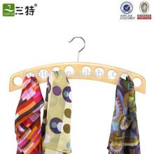 10 Schals Veranstalter Holz Schal Kleiderbügel Großhandel