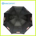 23inch * 8k paraguas de publicidad de apertura automática recta