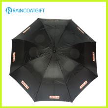 Guarda-chuva automático reto da propaganda da abertura de 23inch * 8k