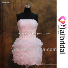 RSW335 Vestidos de casamento saia removível