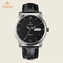 Men′s Black-Tone Water Resitant Mechanical Watches 72481
