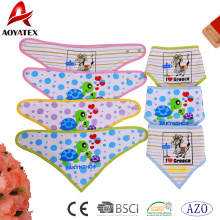 baberos lavables bebé triángulo bandana impreso algodón niños baberos