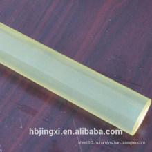 Светло-желтое пламя-retardant пластмасса PU лист стержень