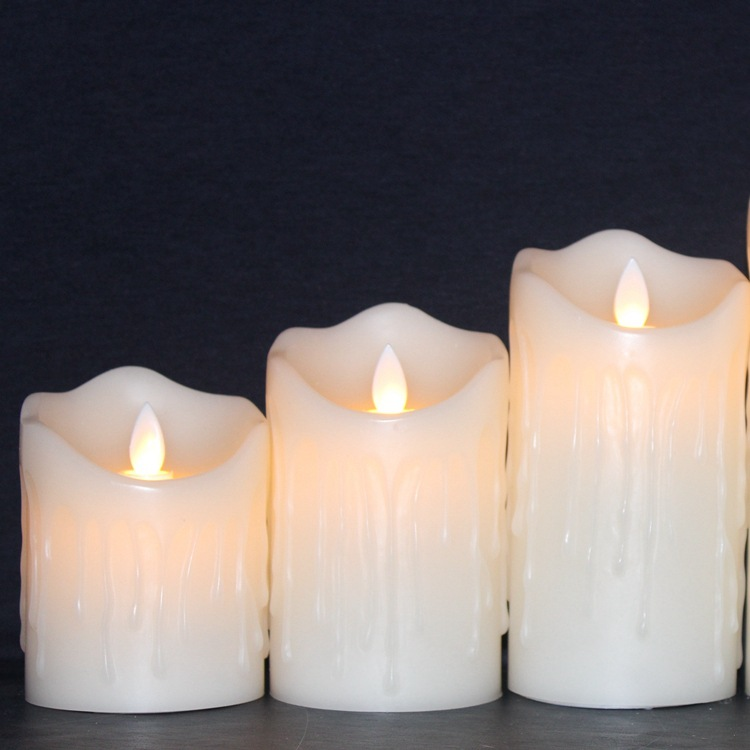 Tears Led Candle 3