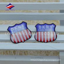 Custom pretty epoxy promotion gifts company badge