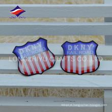 Emblema bonito e personalizado da empresa de promoção de epoxy