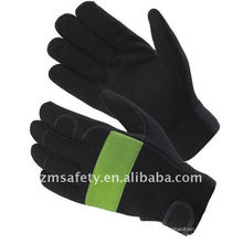 Durable synthetic leather non-slip mechanic work gloves ZM356-H