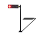 temporary 125mm led directional traffic light pole