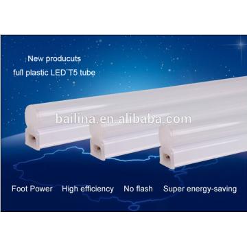 2015 nuevo productos todos plástico t5 led tubo 1200mm con CE & ROHS