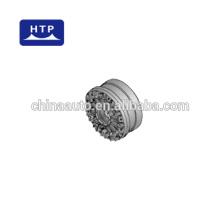 piezas de camión de hierro fundido avanzado piezas de montaje de llanta de rueda para Belaz 540-3103005-20 182kg