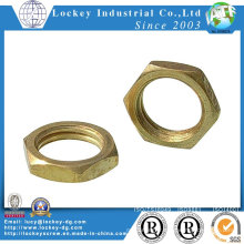 Brass Bronze Hex Thin Nut