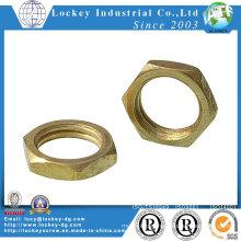 Brass Bronze Hex Thin Nut