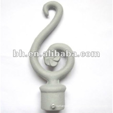 beautiful iron ball screw type end cap