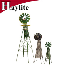 6FT Ornamental metal garden decorative windmill