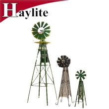 6-футовый декоративные металлические сад декоративные ветряная мельница