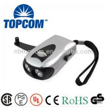 2 led ручной динамомашина с зарядным отверстием TP-PH011