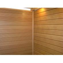 Panel de pared compuesto plástico de madera de 158 * 20m m con CE, Fsc, SGS, certificado