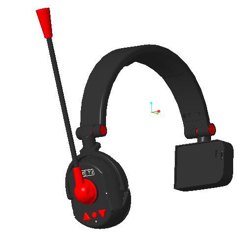 Multi-person real-time intercom wireless digital headset