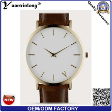 Yxl-276 Promotional New Style Watch Custom Design Leather Quartz Wristwatch Casual Vogue Watch Men Women Factory OEM