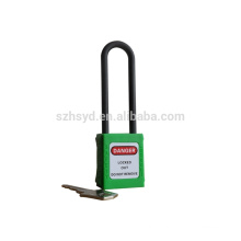 long shackle abs safety padlock