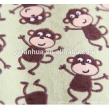 Мягкие зверек печати хлопка фланель дети Детские одеяла младенцев