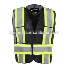CSA Z96-06 norma chalecos reflectantes unisex, chalecos de advertencia de carretera de alta visibilidad, chalecos de seguridad de tráfico chalecos reflexivos personalizados