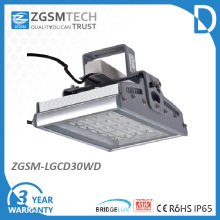 30W toughed Glas IP65 LED hohe Bucht Leuchte