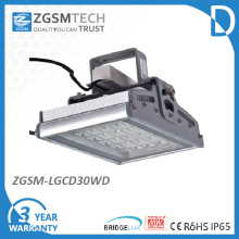 Dispositivo elétrico claro alto da baía do diodo emissor de luz do vidro IP65 30W Toughed