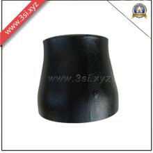 Reductor concéntrico negro de acero al carbono A234 (YZF-L142)